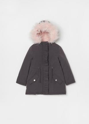 Парка еврозима куртка ovs италия размер 116 на 5-6 лет теплая
