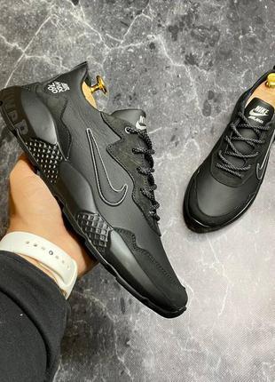 Nike мужские кожаные кроссовки весна осень