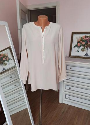 Шелковая блуза charles robertson 100% шелк