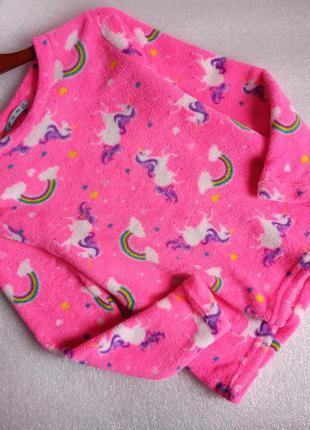 ✨неймовірно м'якенька , неонова , плюшева кофта , светр , світшот , для дому та сну ✨2 фото