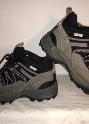 Распродажа! ботинки унисекс crane с гортексом  38рр маломерят стелька 24см