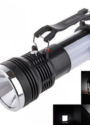 Ліхтар акумуляторний greelite yj 2881t+solar