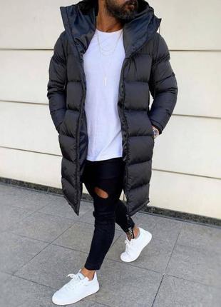 Куртка довга зимова чоловіча авалон