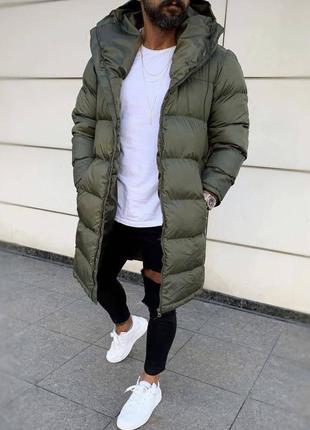 Довга зима чоловіча куртка