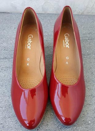 Красивые женские туфли от gabor 37 р - оригинал