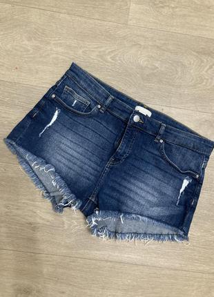 🍀крутые джинсовые шорты h&m