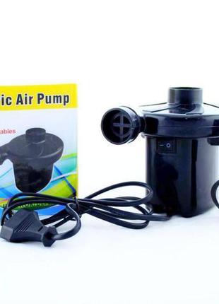 Компресор насос для надувних матрасів air pomp