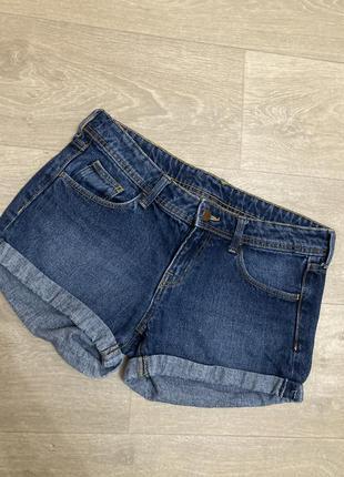 🍀шорты джинсовые h&m
