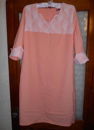 Нарядное платье 52