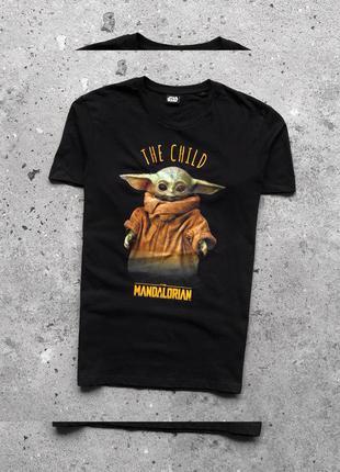 Star wars the child the mandalorian футболка