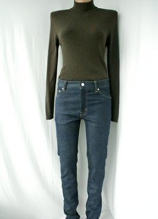 Новые брендовые стильные джинсы скинни mtwtfss weekday. размер 28/32.