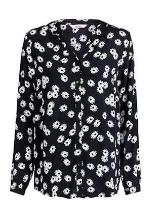 Блузка блуза рубашка размер 46-48 наш tchibo тсм