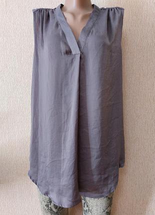 Легкая стильная женская блузка, майка violet + claire