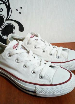 Белые кеды converse (оригинал) + подарок