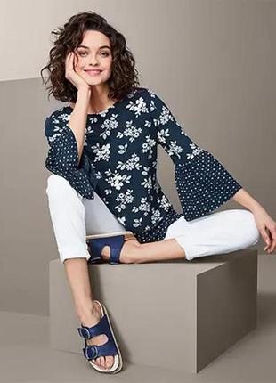 Блузка блуза размер 50-58 наш tchibo тсм
