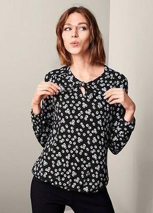 Блузка блуза трикотажная размер 54-58 наш tchibo тсм