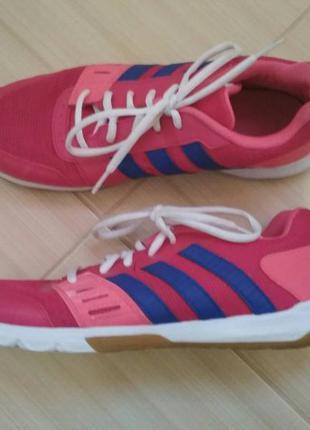 Женские кроссовки adidas t женские текстиль, розовые