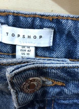 Стильная джинсовая юбка topshop3 фото
