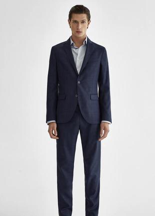 Классический новый мужской костюм massimo dutti
