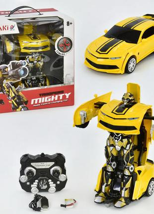 Машина робот трансформер на радиоуправлении bumblebee 671