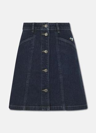 Cath kidston джинсова спідниця юбка джинс