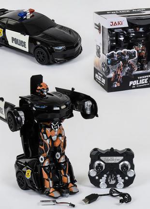 Машина робот трансформер на радиоуправлении 671 police
