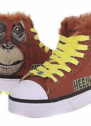 Кеды, кроссовки с роликами, скейтера heelys