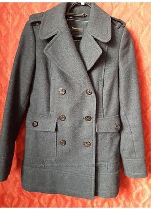 Пальто massimo dutti, s