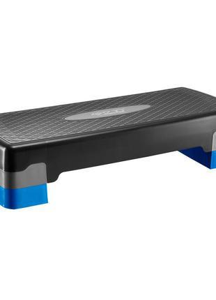 Степ-платформа 2-ступенчатая 4fizjo 4fj1370 black/blue