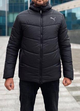 Куртка puma с капюшоном
