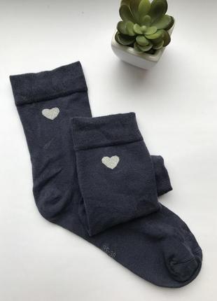 ❤️базовые женские носочки с сердечком германия