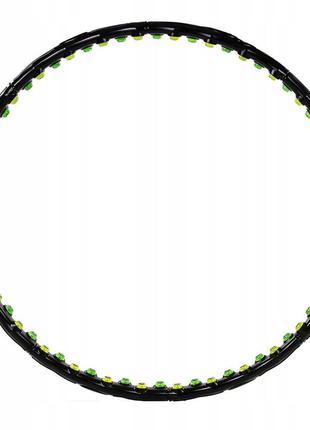 Обруч массажный с магнитами 4fizjo hula hoop 98 см 4fj0132