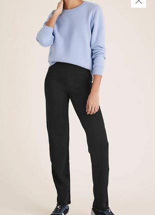 Трикотажные брюки marks & spencer новые