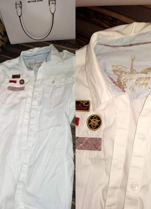 Рубашка  стиле рок colin's