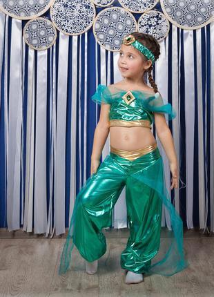 Роскошный детский маскарадный костюм принцесса жасмин