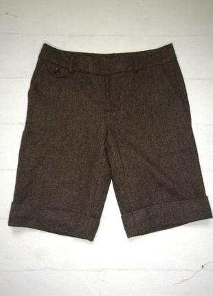 Теплые шерстяные шорты