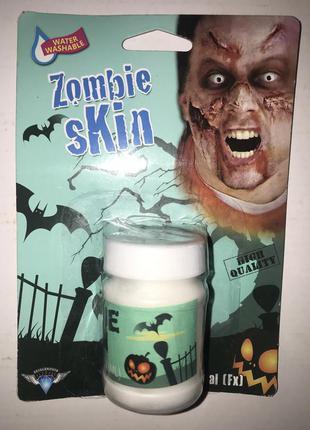 Макияж на хеллоуин кожа зомби вампира монстра