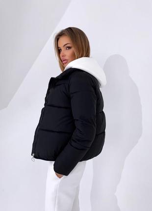 Суперовая куртка на холлофайбере