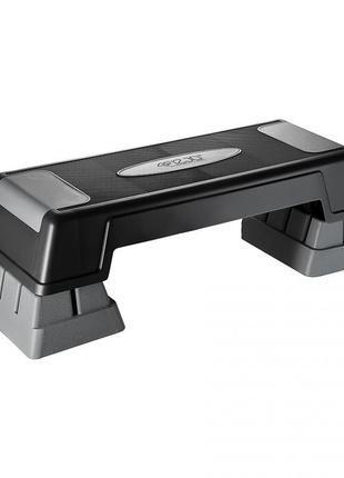 Степ-платформа 3-ступенчатая 4fizjo pro 4fj0226 black/grey