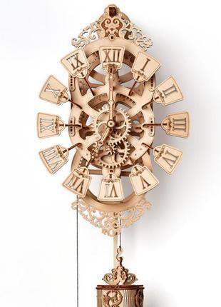 Подарок конструктор часы с маятником. 3d