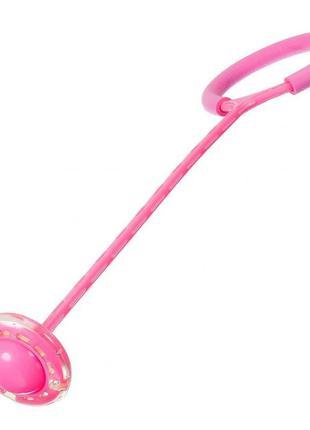 Нейроскакалкасколесом наоднуногуsr19001 62смсветится  (розовый)