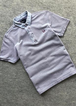 Базове поло яке переливається від fred perry sharp tonic polo shirt