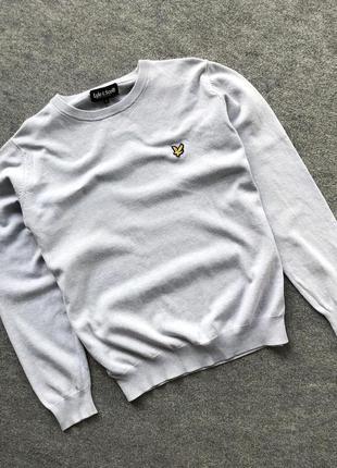 Джемпер в сірому кольорі від lyle & scott gris col jumper grey