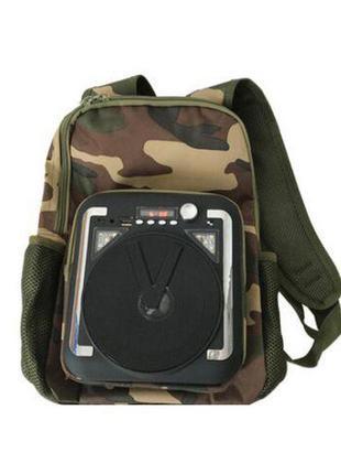 Туристический рюкзак с bluetooth колонкой original