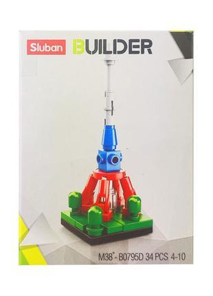 Детский конструктор транспорт sluban m38-b0795, транспорт, фигурка (m38-b0795d)