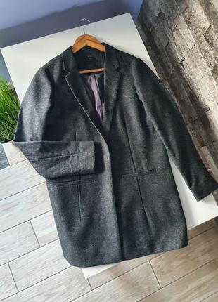 Пиджак cos шерстяной блейзер женский шерсть шёлк
