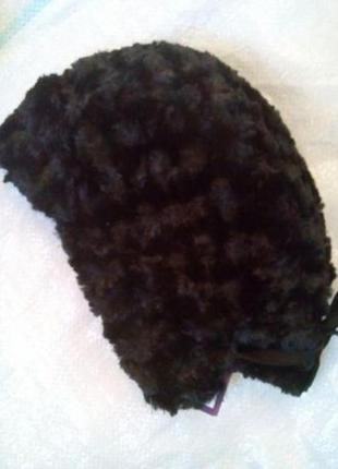 Зимняя меховая шапка esmara one size2