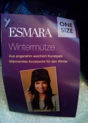 Зимняя меховая шапка esmara one size3