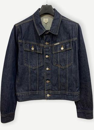 Куртка джинсова джинсовка calvin klein синя