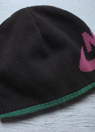 Двухстороняя шапка nike оригинал размер универсальный